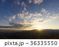 夕焼け 山 空の写真 36335550