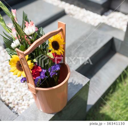 墓参り 36341130