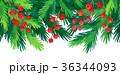 クリスマス デコレーション 装飾のイラスト 36344093