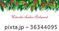 クリスマス デコレーション 装飾のイラスト 36344095