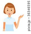 ベクター 女性 看護師のイラスト 36346595