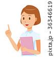ベクター 女性 看護師のイラスト 36346619