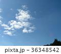 深まった秋の青空と白い雲 36348542