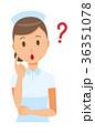 ベクター 女性 看護師のイラスト 36351078