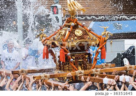 富岡八幡宮例大祭神輿 水かけ 36351645