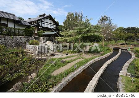 木曽三川公園 輪中の水屋 36351766