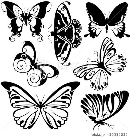 Abstract Butterflies 36353033