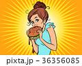 食 料理 食べ物のイラスト 36356085