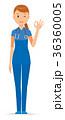 ベクター 女性 看護師のイラスト 36360005