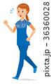 ベクター 女性 看護師のイラスト 36360028