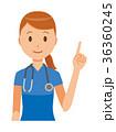 ベクター 女性 看護師のイラスト 36360245