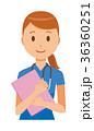 ベクター 女性 看護師のイラスト 36360251