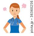 ベクター 女性 看護師のイラスト 36360256