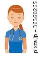 ベクター 女性 看護師のイラスト 36360265