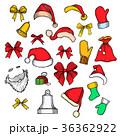 クリスマス コレクション アイコンのイラスト 36362922