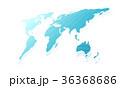 マップ 地図 地球のイラスト 36368686