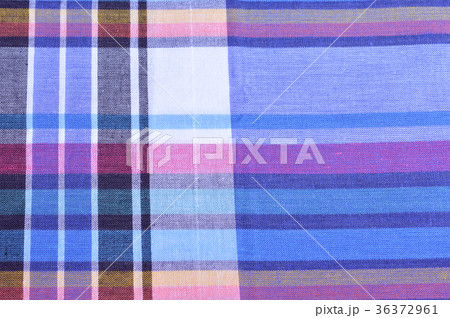 Gingham in Thai styleの写真素材 [36372961] - PIXTA