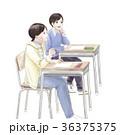 小学生 授業 女の子のイラスト 36375375