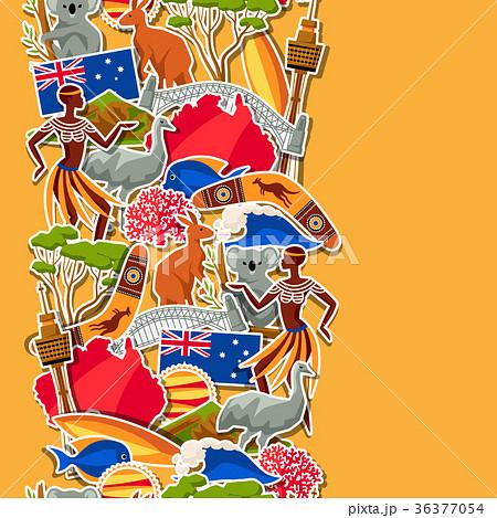 Australia seamless pattern. Australian traditional 36377054
