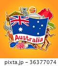 オーストラリア ベクトル こあらのイラスト 36377074
