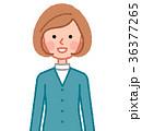 女性 人物 笑顔のイラスト 36377265