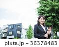 女性 ビジネス 営業の写真 36378483