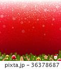 バックグラウンド 背景 クリスマスのイラスト 36378687