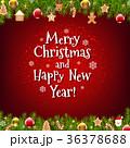 バックグラウンド 背景 クリスマスのイラスト 36378688