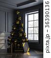 クリスマス 樹木 樹のイラスト 36390136
