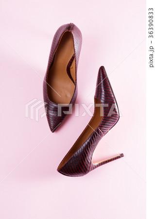 Pair of elegant high heel shoesの写真素材 [36390833] - PIXTA