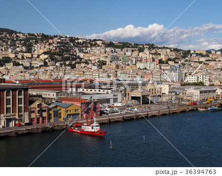 Port of Genoa, Italy / イタリ...