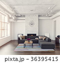 Modern living room interior 36395415
