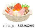 かに鍋 冬の味覚 36398295
