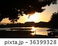嵐山の朝日 36399328