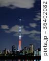 東京スカイツリー キャンドルツリー ライトアップの写真 36402082
