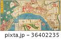 古地図「江戸切絵図」芝三田二本榎 高輪辺絵図 36402235