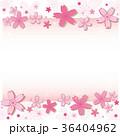 桜 フレーム 枠のイラスト 36404962