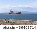 貨物船 入港 タンカーの写真 36406714