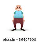 老人 シニア 年上のイラスト 36407908