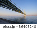 明石海峡大橋 明石海峡 橋の写真 36408248