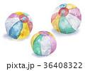 紙風船 水彩 水彩画のイラスト 36408322