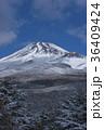 富士山 冬 宝永火口の写真 36409424