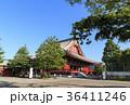 寺社風景(東京、浅草寺、新緑) 36411246