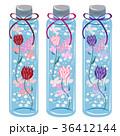 ハーバリウム(リボン付き・円柱ボトル) 36412144