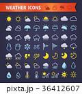 天気 アイコン  36412607
