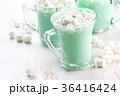 チョコレート ミント ドリンクの写真 36416424