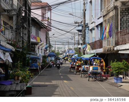 タイの田舎の港町シャローム 36416598