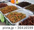 タイの露天 食用昆虫 36416599