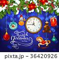 クリスマス ベクトル サンタのイラスト 36420926