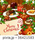 クリスマス 食 料理のイラスト 36421583